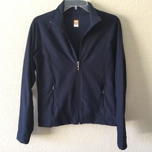 Lucy Tech Navy Full Zip Athletic Jacket- M